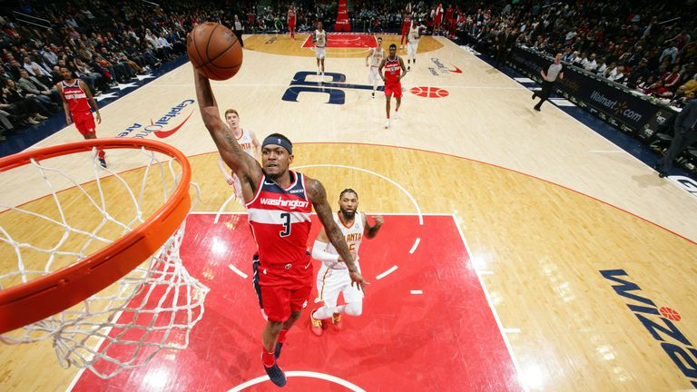 Washington Wizards guard Bradley Beal blossoming without John Wall   NBA News  