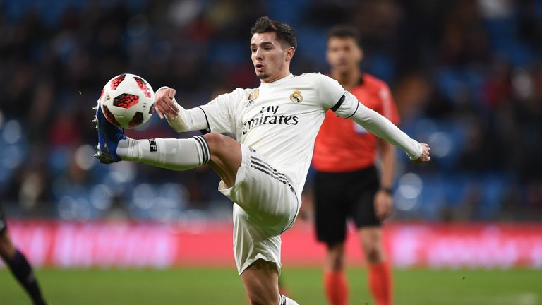 Brahim Diaz signed for Real Madrid from Manchester City last week d68cc15a1f5f6
