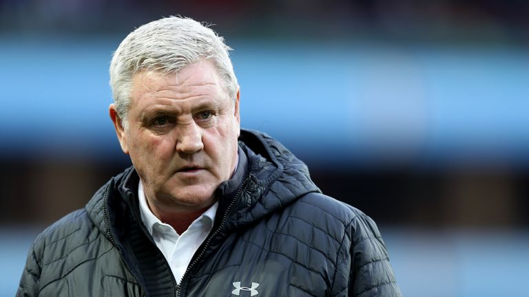 Steve Bruce's impending move to Newcastle has been held up