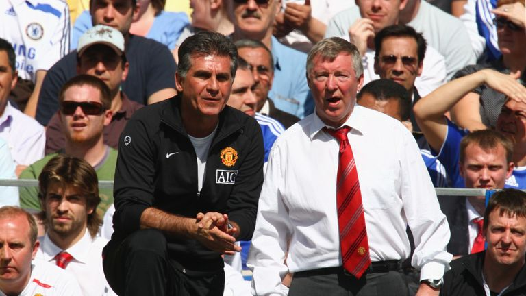 Queiroz had two spells as an assistant to Alex Ferguson at Manchester United