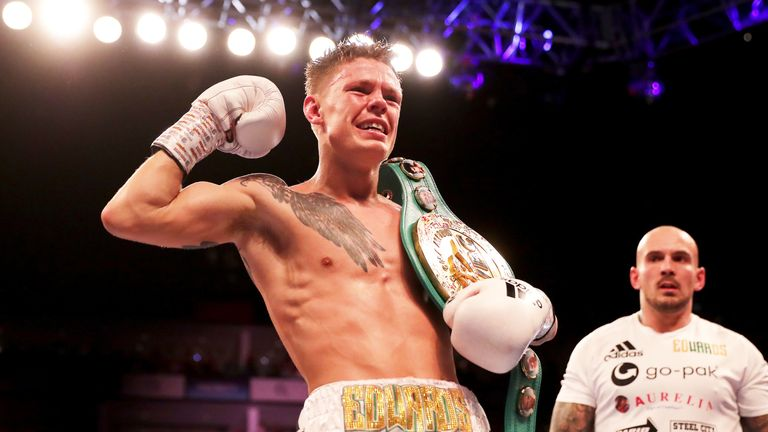 Charlie Edwards claimed the WBC flyweight belt last month