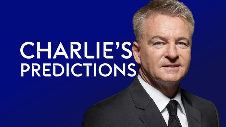 Charlie Nicholas delivers his Premier League predictions, including Manchester City vs Arsenal and West Ham vs Liverpool