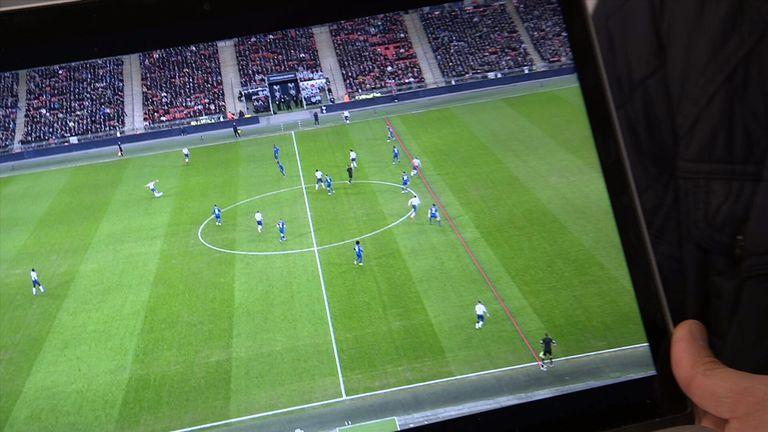 Chelsea Tottenham VAR