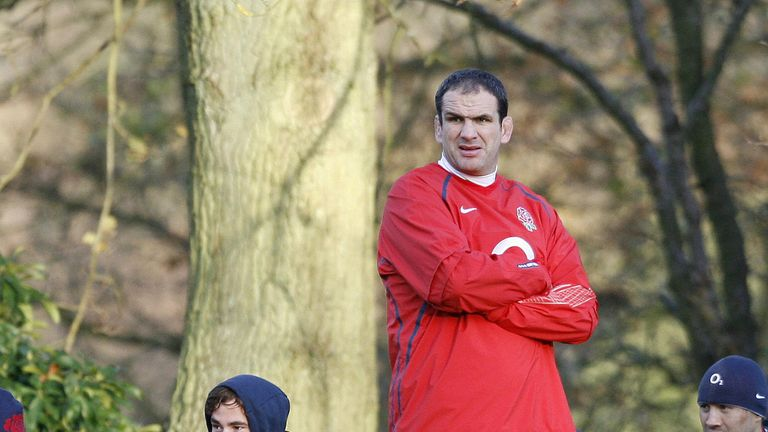 The 31-year-old says he and former England boss Martin Johnson failed to click