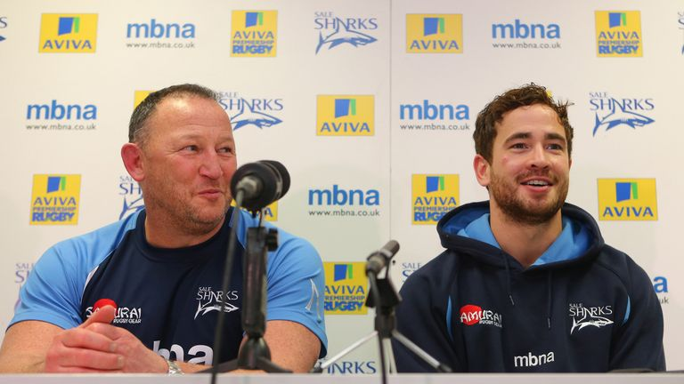 Cipriani says he experienced a positive working relationship with Sale Sharks' Steve Diamond for his four years at the club