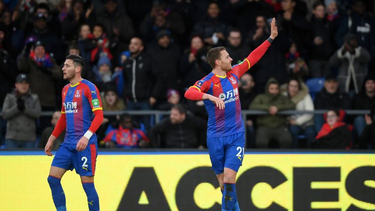 Connor Wickham wheels away after ending his two-year goal drought