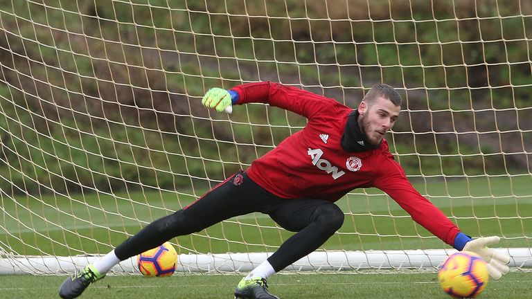 Manchester United still not satisfied, says David de Gea   Football News    Sky Sports
