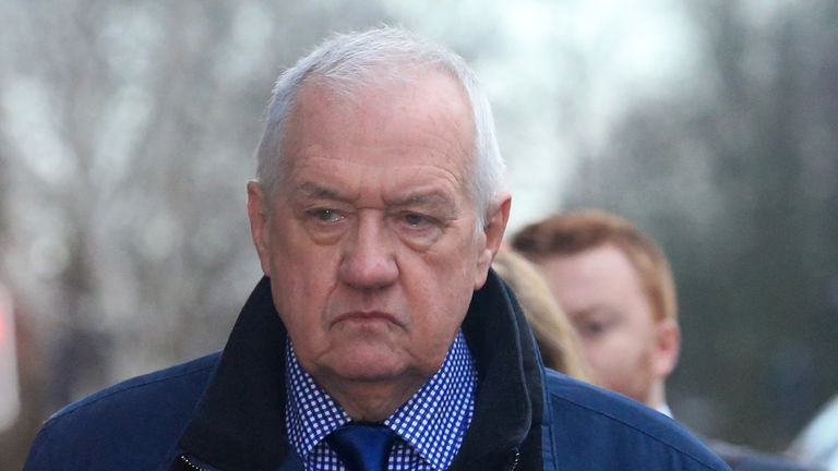David Duckenfield was the match-day police commander at the Hillsborough football stadium disaster