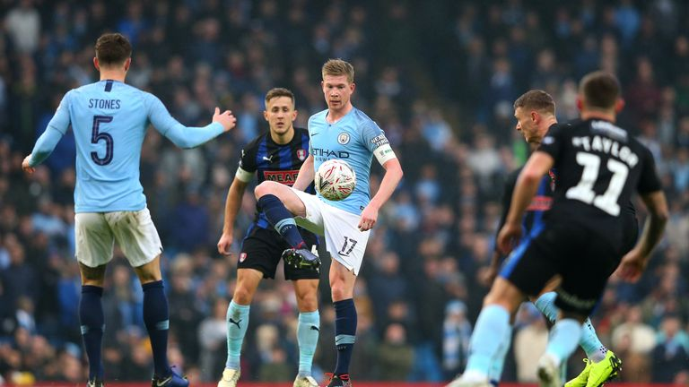 Pep Guardiola believes a fit-again Kevin De Bruyne could give Manchester City an extra edge