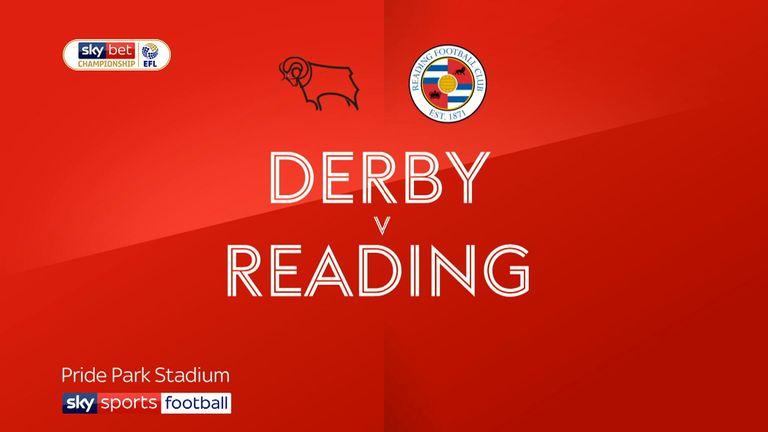 Derby v Reading
