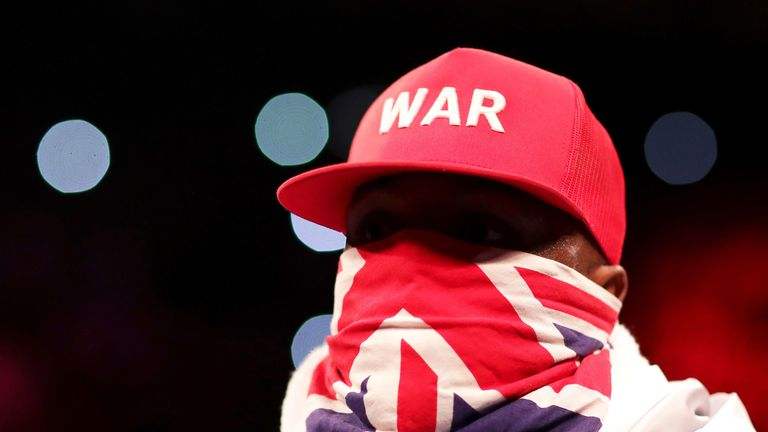 Derek Chisora had been prepared for a planned fight with Joseph Parker