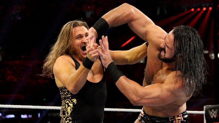Drew McIntyre had some strong Royal Rumble moments but was not among the final competitors