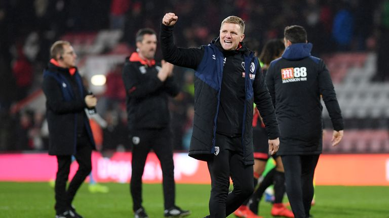 Eddie Howe hailed his side's discipline after a hard-fought win over West Ham