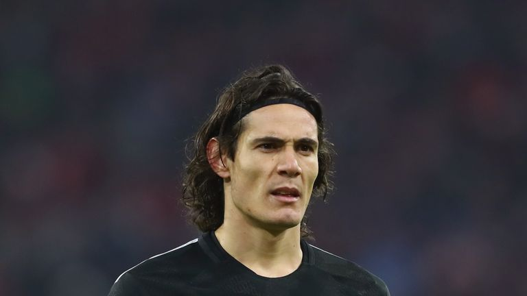 Edinson Cavani has been linked with a Premier League move