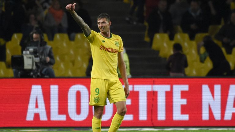 Sala was Nantes' top goalscorer for the past two seasons