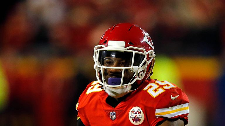 premium selection 19f34 60b05 Kansas City Chiefs' Eric Berry, Sammy Watkins and Spencer ...