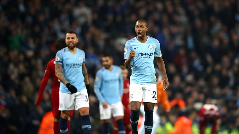 Fernandinho says Manchester City are fighting 'like animals' to retain Premier League title | Football News |
