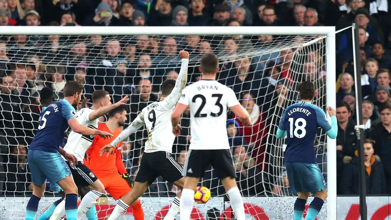 Fernando Llorente handed Fulham the lead when he put Seri's corner through his own net