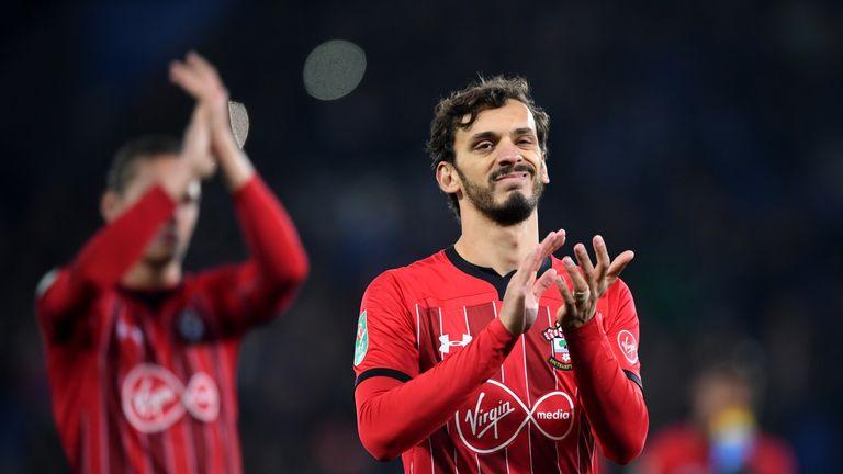 Southampton striker Manolo Gabbiadini