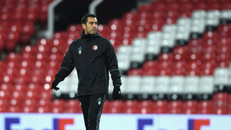 Giovanni van Bronckhorst is to leave Feyenoord after four seasons as manager