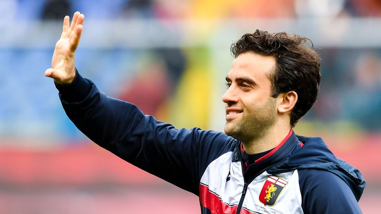 Giuseppe Rossi was released by Genoa last summer