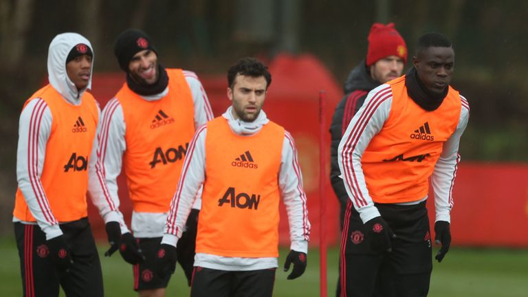 Giuseppe Rossi has been training with Manchester United