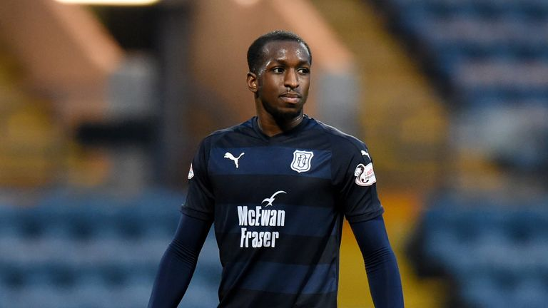 Glen Kamara in action for Dundee