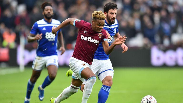 Birmingham struggled to cope with Grady Diangana's directness on Saturday