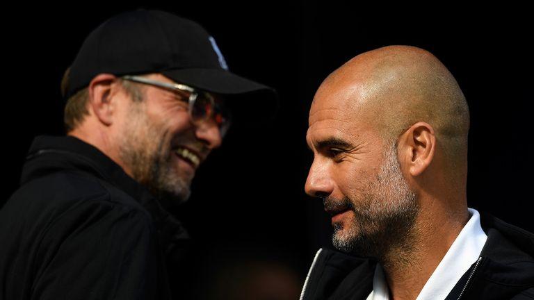 Guardiola and Klopp