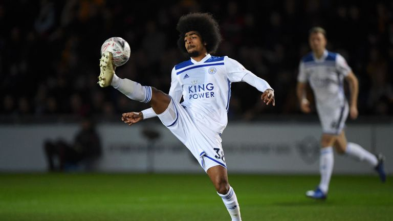 Choudhury has featured 10 times for Leicester this season
