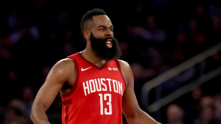 Harden cools off but Rockets still beat Raptors