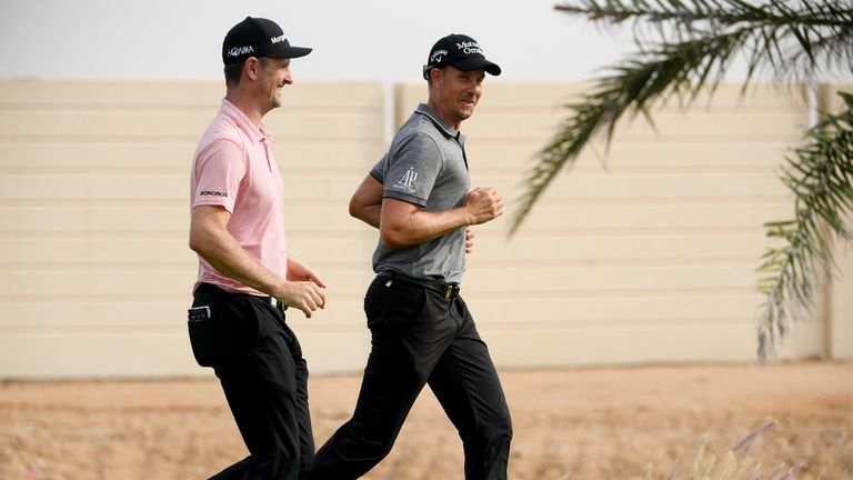 Johnson takes lead at Saudi International