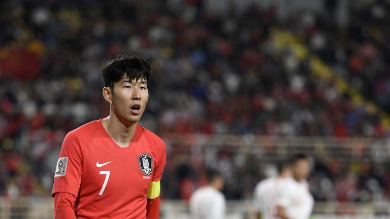 Heung-Min Son South Korea