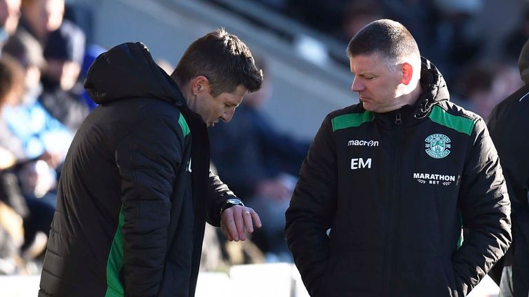 Grant Murray (L) and Eddie May have been in caretaker charge