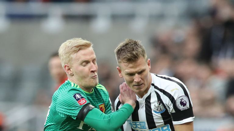 Newcastle lost to Watford in the FA Cup fourth round on Saturday