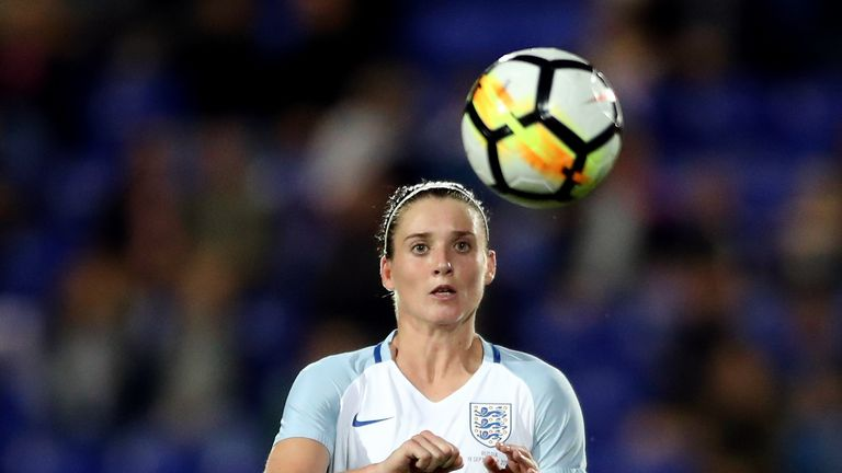 Jade Moore last featured for England Women against Bosnia last April