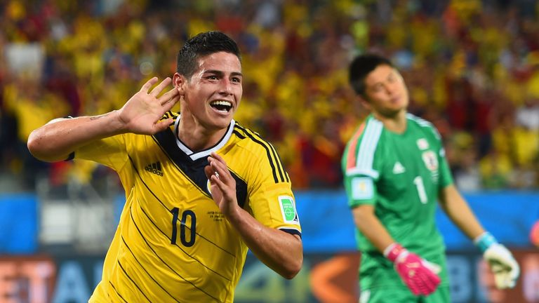James Rodriguez won the Golden Boot at the 2014 World Cup