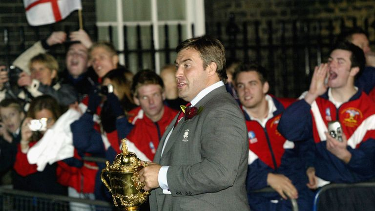 Leonard won the World Cup with England in 2003