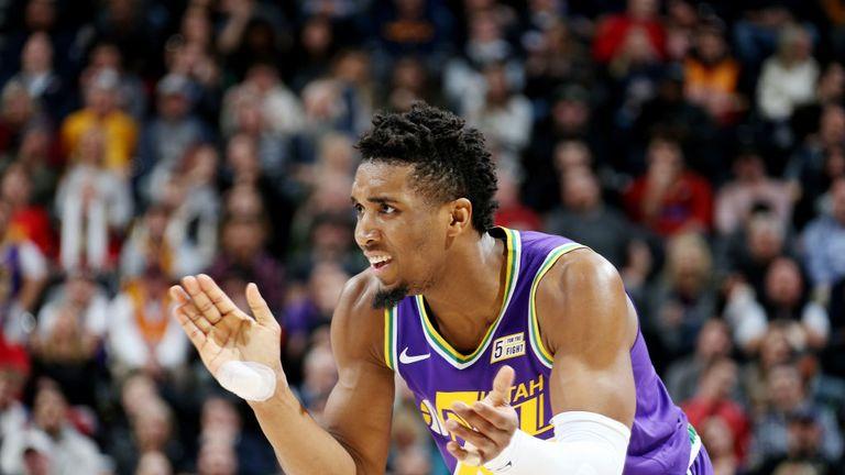 NBA MAGIC AT JAZZ