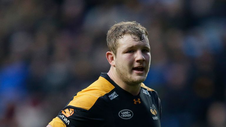 Joe Launchbury comes back into the Wasps starting lineup after a spell out injured