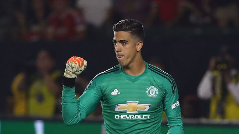 Joel Pereira has made three appearances for Manchester United