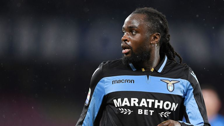 Jordan Lukaku during the Serie A match between SSC Napoli and SS Lazio at Stadio San Paolo on January 20, 2019 in Naples, Italy