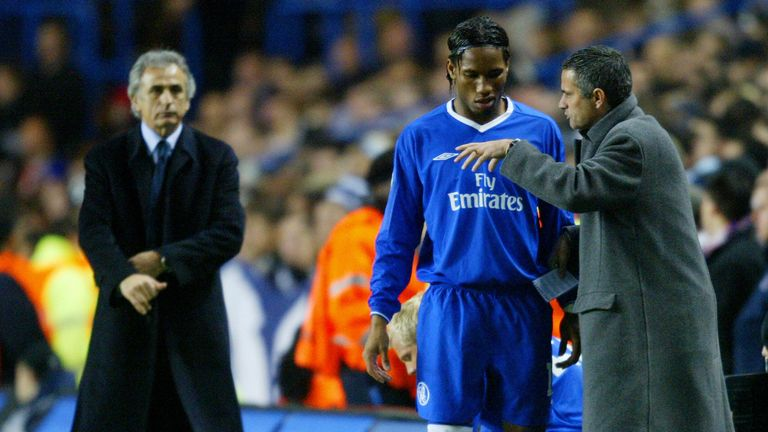 The arrival of Didier Drogba and Jose Mourinho marked the end of Hasselbaink's time at Chelsea