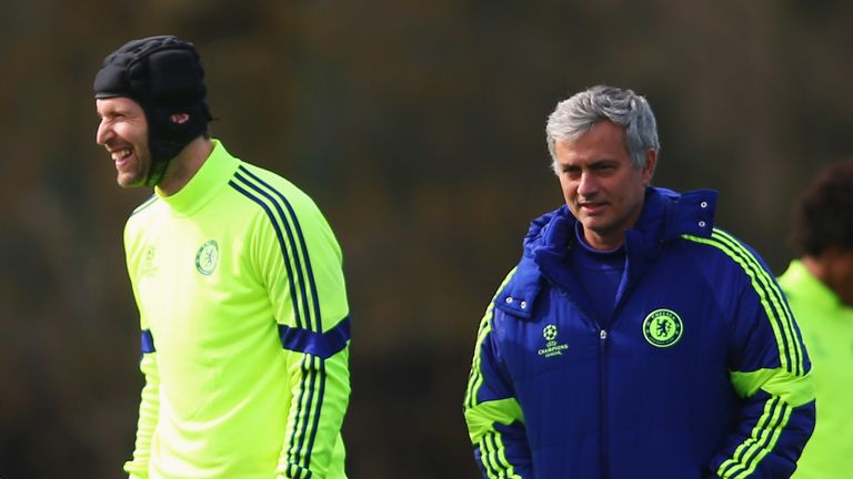 Petr Cech and Jose Mourinho enjoyed great success together at Chelsea