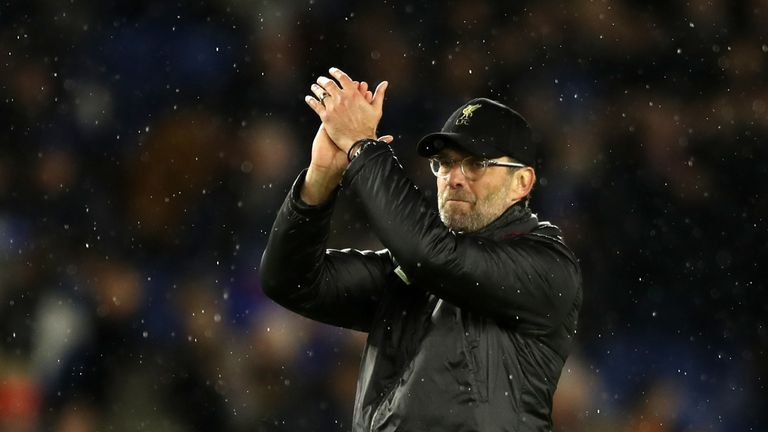Jurgen Klopp's men surged clear at the top