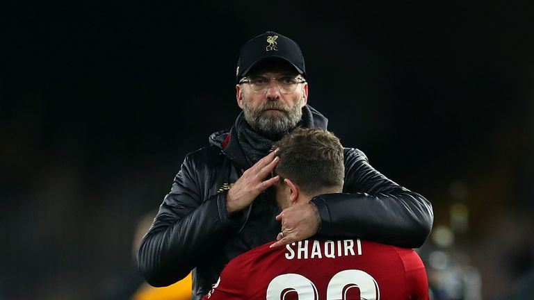 Jurgen Klopp to make late call on fitness of Xherdan Shaqiri