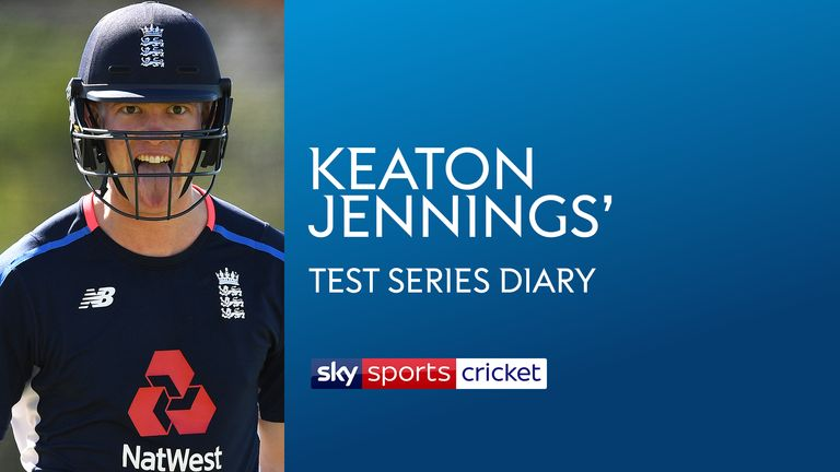 Keaton Jennings' Test series diary