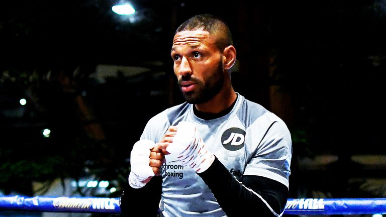Kell Brook is yet to announce his next opponent