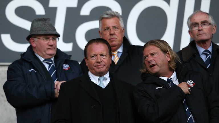 Ken Anderson confirmed on Tuesday that the Bolton players and coaching staff had finally been paid for February