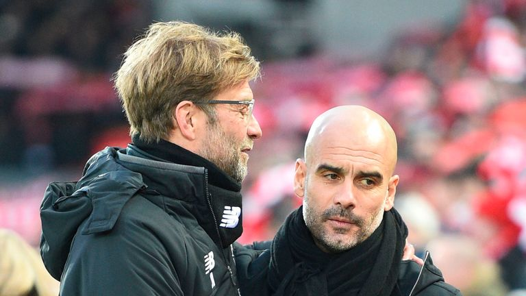 Jurgen Klopp and Pep Guardiola are yet to take their teams to Old Trafford this season